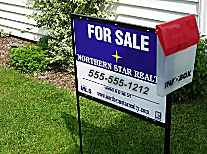 For Sale Sign Notes Northern Star Realty